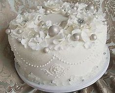 Image result for Beautiful Christmas Cakes
