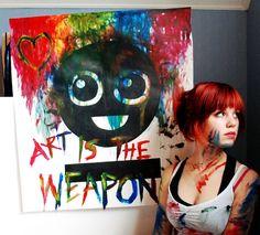 Art Is The Weapon by Mirish.deviantart.com