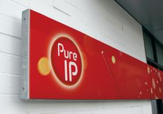 Branded signage design for Pure IP Information Graphics, Signage Design, Branding, Graphic Design, Pure Products, Projects, Infographics, Log Projects, Info Graphics