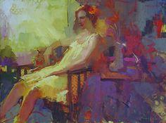 Orange Flower by Michael Steirnagle ~ 30 x 40