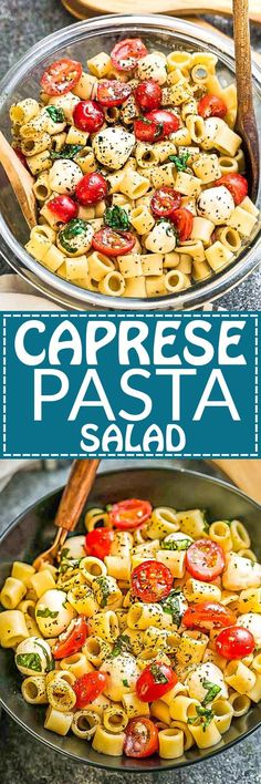 This Caprese Pasta Salad Meal Prep is the perfect easy side dish for Memorial Day, Fourth of July and any weekend summer potlucks, barbecues, cookouts and parties. Best of all, so easy to make ahead and takes under 20 minutes to put together. Leftovers keep well for work or school lunchboxes or lunch bowls. Packed with mozzarella, ditalini, cherry tomatoes and fresh basil coated in a light and refreshing 4 ingredient balsamic dressing.