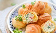 Snack Recipes, Snacks, Fresh Rolls, Cantaloupe, Potato Salad, Shrimp, Appetizers, Baking, Fruit