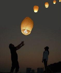 sky lanterns - Bing Images