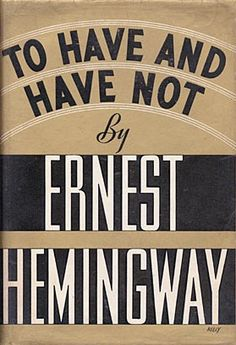 Lines from Hemingway's To Have and Have Not show up a couple of times in Chronicles: Volume One.