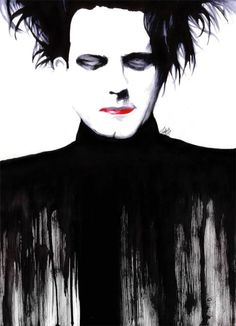 painted Robert Smith