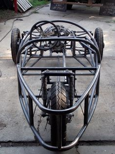 2013      2015   It will be 4 years this fall that I bought the CX500 parts bike and  started building the chassis. 2 and 4 years have...