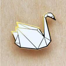 origami, swan, cygne