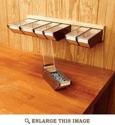 Take-anywhere Hardware Bins Woodworking Plan