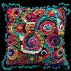 Looking for crocheting project inspiration? Check out Gypsy Pillow by member kayotica.