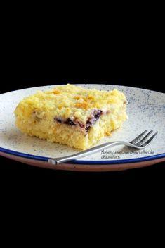 Blueberry Lemon Cream Cheese Coffee Cake bakerstreet.tv