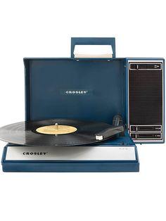 CROSLEY Spinnerette, blau Tragbarer Plattenspieler