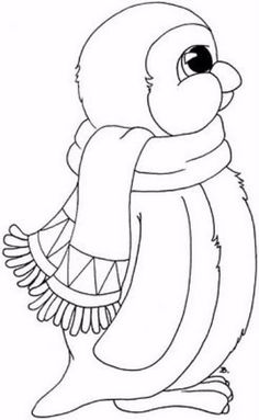 Top 20 Penguin Coloring Pages For Your Little Ones