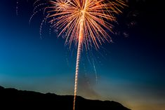 Yellow Fireworks Display during Nigh Time · Free Stock Photo