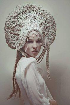 white evil (headpiece) by AgnieszkaOsipa.deviantart.com on @DeviantArt