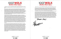 Slipknot from the Karlson & McKenzie Morning Show tells about his journey though the industry in this letter.