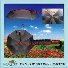 Auto Open and Close Umbrella with Customized Imprint
