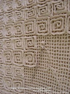 3 Different crochet rugs with photos & patterns.