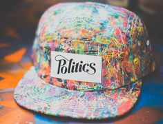 Pollock 5 Panel Hat By SNEAKER POLITICS