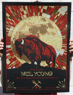 Neil Young - Upper Darby, PA 2011 - by Todd Slater