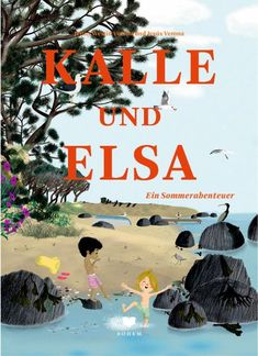 Endlich ist der Sommer da! Und Kalles und Elsas lang ersehnter Tag am Meer. Die Wellen glitzern, der Sand ist zuckerig weich. Sie haben zum Glück an alles gedacht: Den Delfin zum Aufblasen, den Sonnenschirm, Saft, Proviant und...das Allerwichtigste: Schaufeln! Also los! Das Loch am Strand wird immer tiefer und größer und mit ihm das Abenteuer. Verona, Elsa, Illustrator, Am Meer, Thalia, Strand, Movie Posters, Kids, Children Books