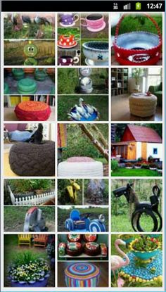 100 Creative Ways To Reuse Old Tyres - all these makeovers are incredible