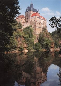 Kriebstein Castle, Germany (by marikaranta )