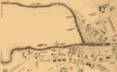 Sydney Cove Map - Early 1800s