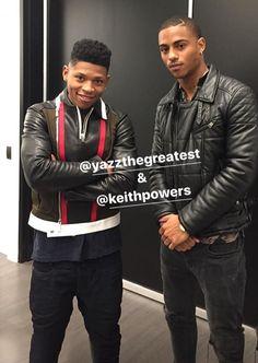 Yazz & Keith T. Powers