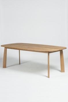 Stone table L210 cm design Sylvain Willenz for Quodes