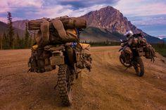 Riding WR250R's from Washington to Alaska