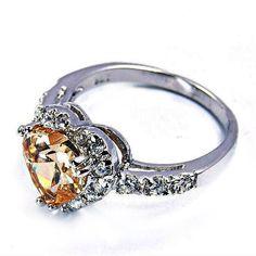 """Passionate Heart"" Honey Cubic Zirconia & Sterling Silver... https://www.amazon.com/dp/B00ALZZC34/ref=cm_sw_r_pi_dp_x_W.p9yb915QYGW"