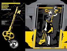 Illustration Inspiration by Gabriel Silveira | HeyDesign Graphic Design & Typography Inspiration