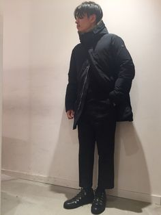 ITALSTYLE NAMBA PARKS STAFF STYLING COAT:LEMPELIUS UOMO:\124,200- KNIT:SBTRACT:13,824- PANTS:DERRIERE:19,440- SHOES:CAMRLENGO:\42,120- (すべて税込価格)