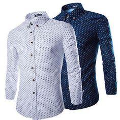 Fashion-Mens-Luxury-Long-Sleeve-Shirt-Casual-Slim-Fit-Stylish-Dress-Shirts-Tops
