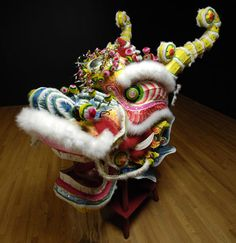 "amnhnyc: "" In legends, folktales, and modern fantasies like Game of Thrones, dragons are magical creatures. Dragon Dance, Dragon Head, Dragon Art, Chinese Lion Dance, Chinese Art, Chinese Paper, Japanese Dragon, Chinese Dragon, Pictures Of Mary"