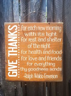 Fall Decor Autumn Decor Ralph Waldo Emerson by FarmhouseChicSigns