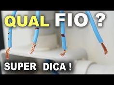 Como identificar cada fio em uma instalação elétrica! - YouTube