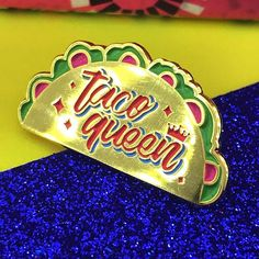 Dreaming of shiny gold tacos and yummy guacamole  shop link in profile . . . . #pin #pins #pingame #pinstagram #pincommunity #enamelpin #pinsofig #pinlife #wearableart #lapelpin #pingamestrong #illustrator #chicana #kawaii #pincollection #kawaiifashion #corazonpompom #nottingham #pinlover #abmlifeiscolorful #taco #tacoqueen #food #mexicanfood #guacamole #mexico