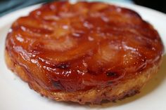Classic Tarte Tatin Recipe. 6 large apples (such as Granny Smith or Golden Delicious), peeled, cored and quartered 1 sheet store-bought puff pastry, thawed 1 cup sugar 6 tablespoons butter, cut into 1-inch pieces juice of half a lemon 1 pinch sea salt
