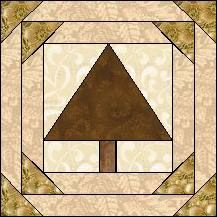 Block of Day for April 23, 2015 - Tree in Frame