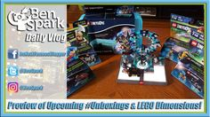 Preview of Upcoming #Unboxings & LEGO Dimensions! Many of these toys were sent to me or I got from Blogger Bash. I indicate what is what in the video.   We opened LEGO Dimensions the other day. I played through the Wizard of Oz level and was hooked. This is a fun game. I wish I had opened it sooner. It has got me back playing. I even picked up three fun packs and got the fourth free at Toys R Us.