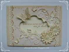 Elly's Card- Corner: Just to know that I think of you.