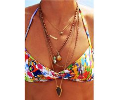 Love these accessories with a swimsuit