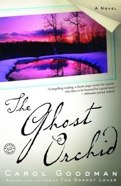 The Ghost Orchid - Carol Goodman. Psychics, artists, and echoes of the past.