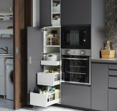 Kitchen Room Design, Ikea Kitchen, Modern Kitchen Design, Interior Design Kitchen, Kitchen Furniture, Kitchen Cabinets, Voxtorp Ikea, Ikea Interior, Design Moderne