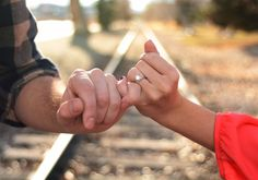 Pinky promise Engagement photography @Lane Hartwell Hartwell Hartwell Williams I believe you promised me this! :)