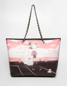 Love Moschino | Love Moschino Get Away Printed Bag check out my blog :) handlethisstyle.com