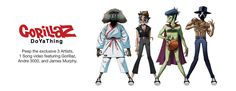 """Single Review: """"DoYaThing"""" by Gorillaz featuring Andre 3000 & James Murphy"""