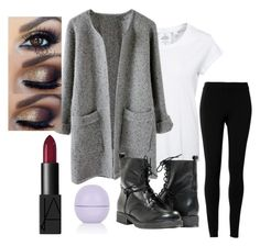 """""""Sweater Weather"""" by scoda on Polyvore featuring Cheap Monday, Max Studio, Paolo Shoes, NARS Cosmetics and Topshop"""