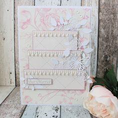 """Creative Pages by amaryllis775: Scrapbookimg / Hochzeitskarte """"Torte"""""""
